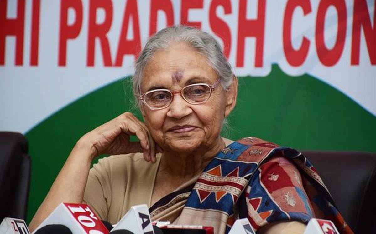 Sheila Dikshit passes away