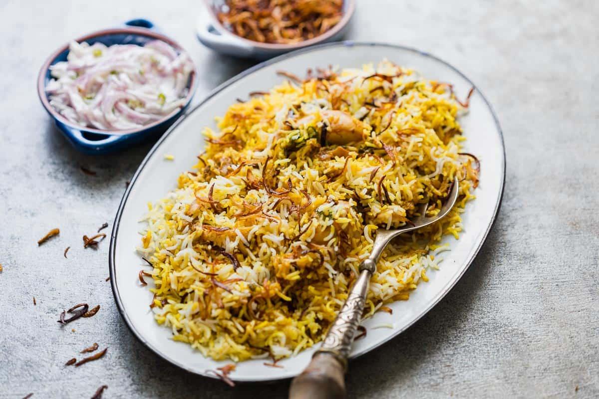Chicken Biryani recipe in Marathi